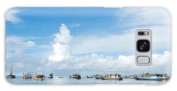 Fishing Boat Galaxy Case by Yew Kwang