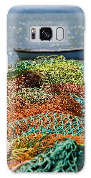 Fishing Nets Galaxy Case by Trevor Chriss
