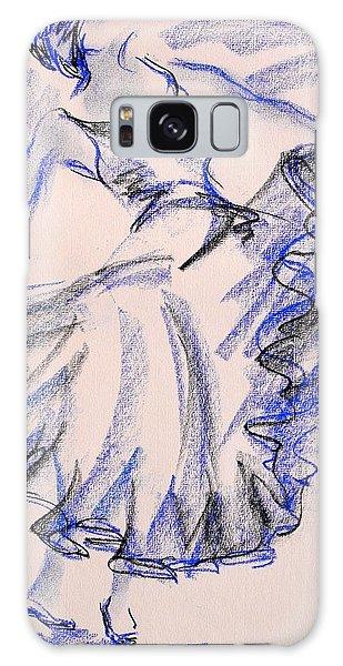 Flamenco Dancer 8 Galaxy Case