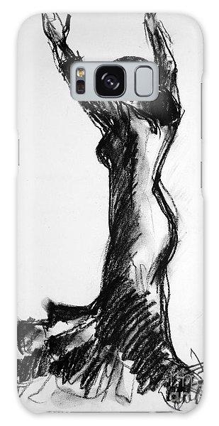 Flamenco Sketch 3 Galaxy Case