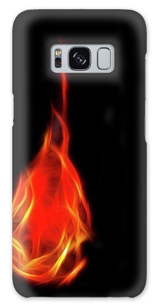 Flaming Tear Galaxy Case