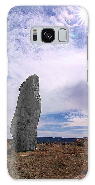 Flat Chimney Rock Galaxy Case