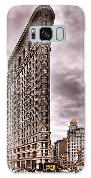 Flat Iron Building Galaxy Case by Michael Dorn