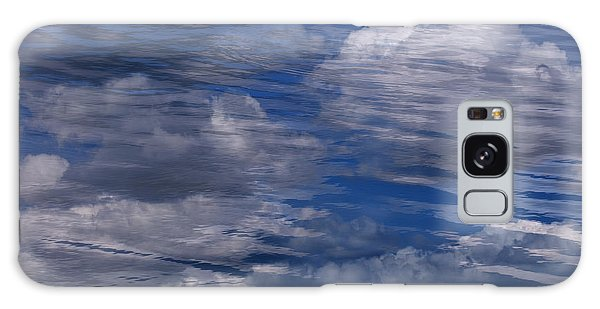 Floating Clouds Galaxy Case by Michael Mogensen