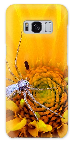 Floral Spider Galaxy Case