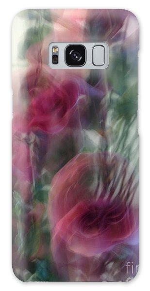 Florals In Motion 2 Galaxy Case by Cedric Hampton