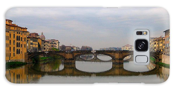Florence Italy Bridge Galaxy Case by Catie Canetti