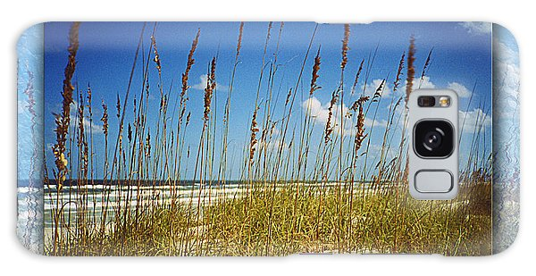 Perfect Day At A Florida Beach Galaxy Case by Barbara Middleton