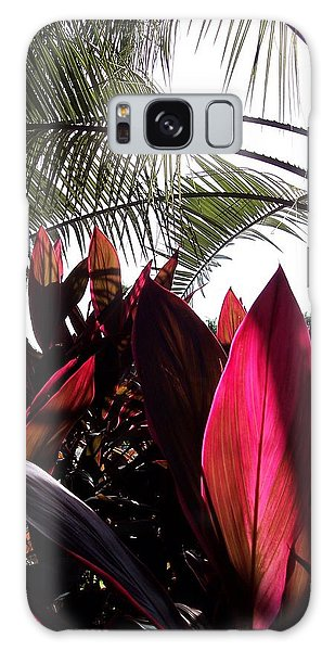 Florida Foliage Galaxy Case by Rebecca Overton