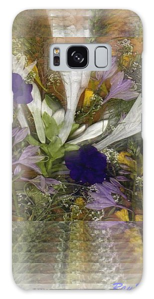 Flowers For You To Infinity Galaxy Case by Ray Tapajna