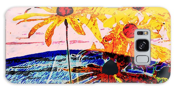 Flowers From Another World Galaxy Case by Lenore Senior and David Bearden