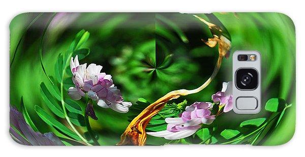 Flowers Gone Wild Galaxy Case by Cindy Manero