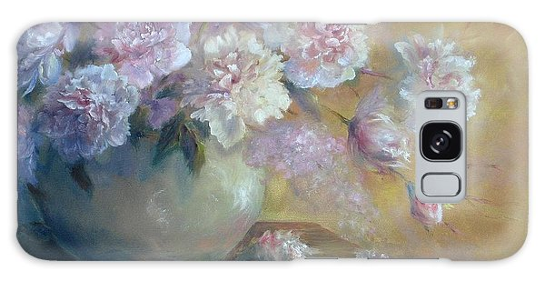 Flowers In June Galaxy Case by Bonnie Goedecke