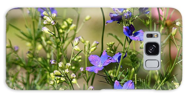 Flowers Of Summer Galaxy Case by Robin Regan