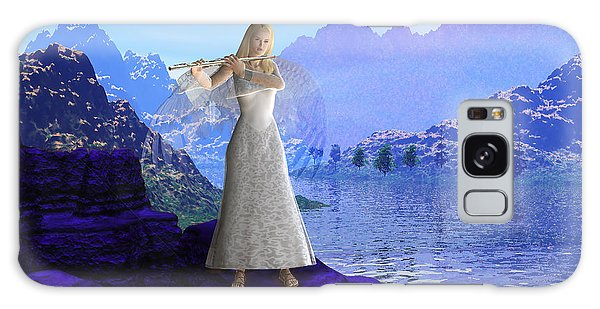 Flute Angel 2 Galaxy Case