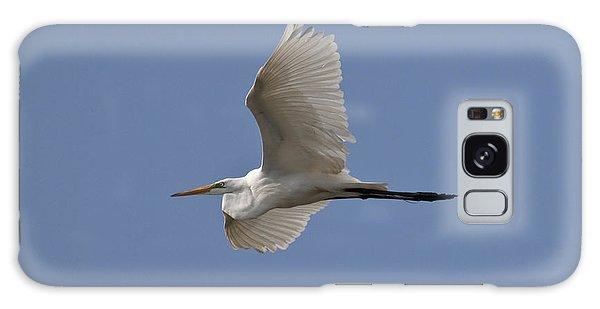Flying Egret Galaxy Case by Jeannette Hunt
