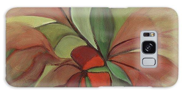 Flying Flowers Galaxy Case by Rachel Hershkovitz