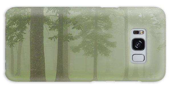 Foggy Forest Galaxy Case