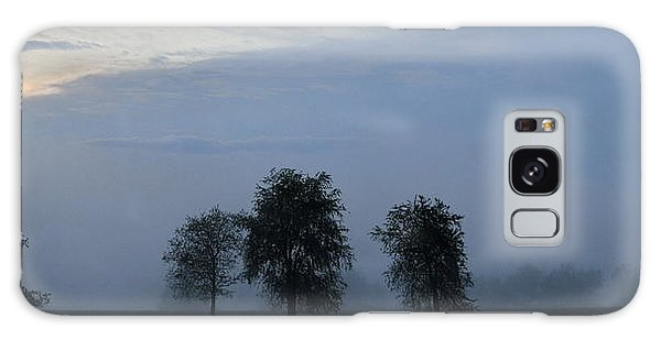 Foggy Pennsylvania Treeline Galaxy Case