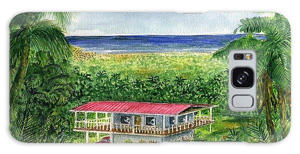 Foothills Of El Yunque Puerto Rico Galaxy Case