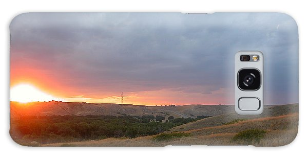 Foothills Sunset Galaxy Case by Stuart Turnbull