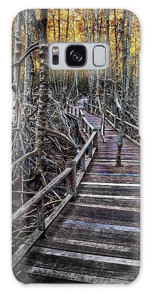 Mangrove Galaxy Case - Footpath In Mangrove Forest by Adrian Evans