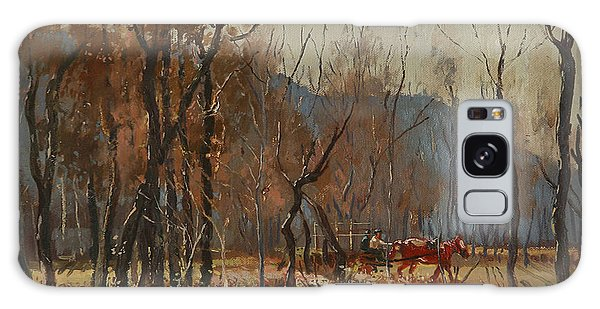 Cart Galaxy Case - Forest By Shkumbini River  by Ylli Haruni
