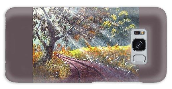 Forest Sunbeams Galaxy Case