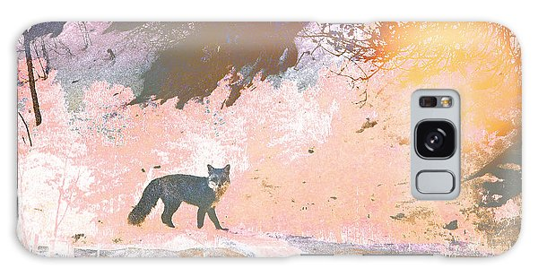 Fox In The Forest 2 Galaxy Case by Lenore Senior and Tammy Sutherland