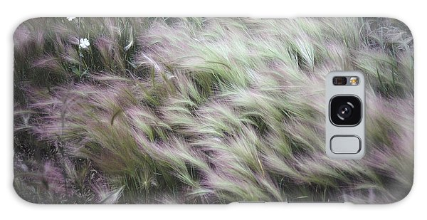 Foxtail Barley And Campion Galaxy Case