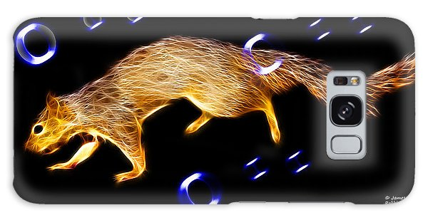 Fractal - Searching -  Robbie The Squirrel -7828 Galaxy Case