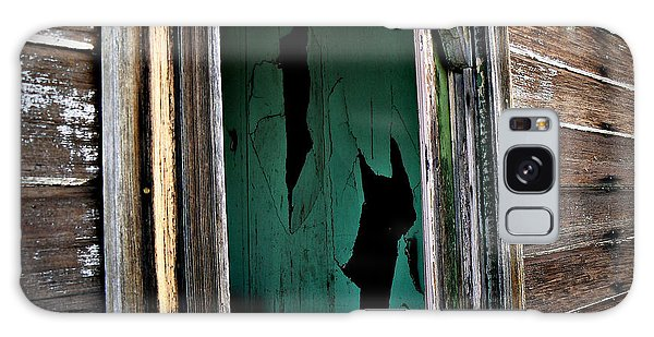 Fractured View Galaxy Case by Lin Haring
