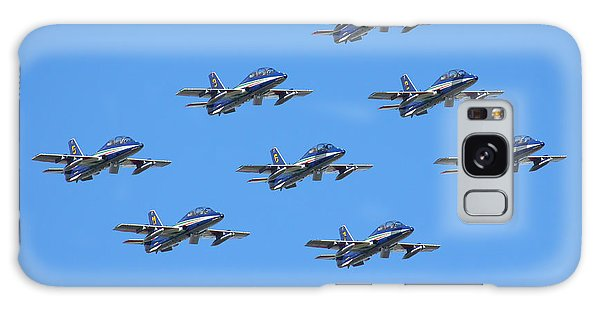 Frecce Tricolori Diamond 9 Galaxy Case by Ken Brannen
