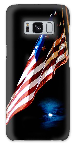 Flag On Federal Hill Galaxy Case