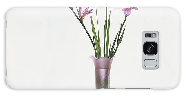 Freesias In Vase Galaxy Case