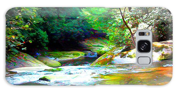 French Broad River Filtered Galaxy Case