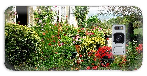 French Cottage Garden Galaxy Case