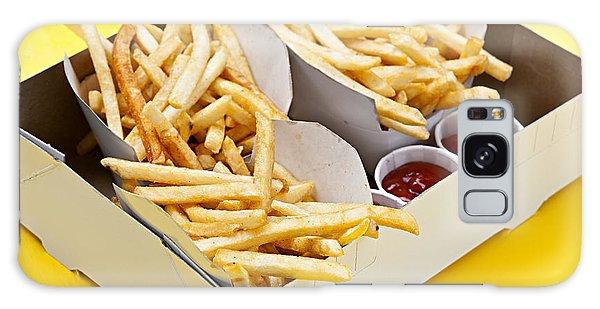 Restaurants Galaxy Case - French Fries In Box by Elena Elisseeva