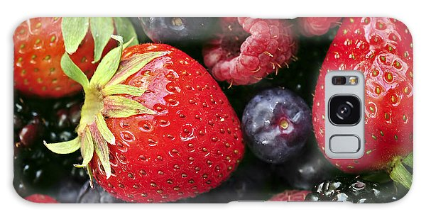 Fresh Berries Galaxy Case by Elena Elisseeva
