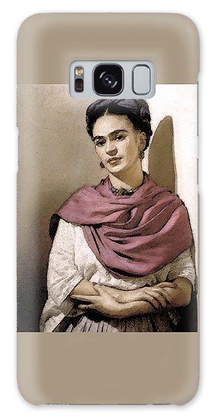 Frida Interpreted 2 Galaxy Case by Lenore Senior