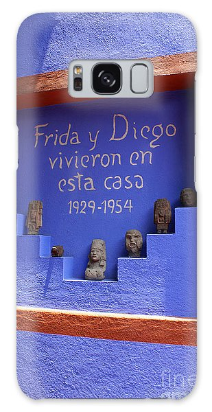 Frida Kahlo Museum Mexico City Galaxy Case