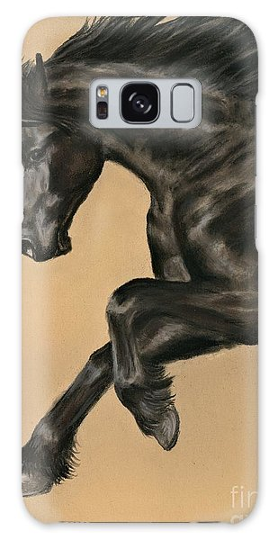 Friesian Portrait Galaxy Case