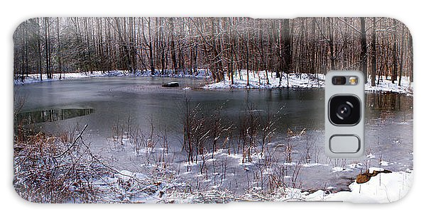Frozen Head Pond Galaxy Case by Paul Mashburn
