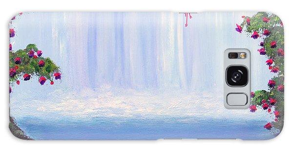 Fuchsia Falls Galaxy Case