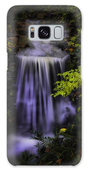 Garden Falls Galaxy Case by Lynne Jenkins