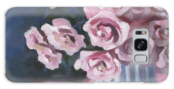 Garden Roses Galaxy Case by Natasha Denger