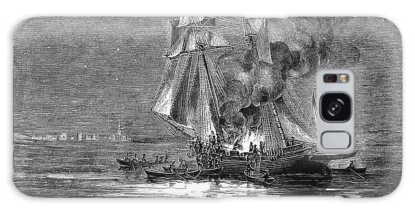 Royal Colony Galaxy Case - Gaspee Burning, 1772 by Granger