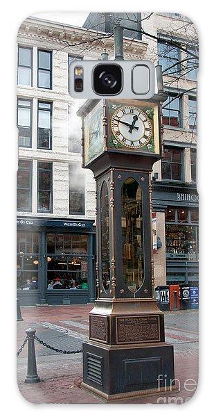 Gastown Steam Clock Galaxy Case by Carol Ailles