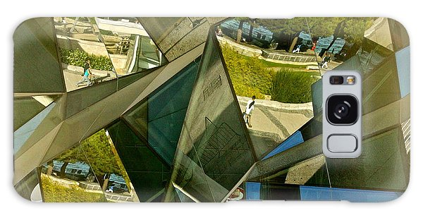 Geometric Reflections Galaxy Case by Michael Cinnamond