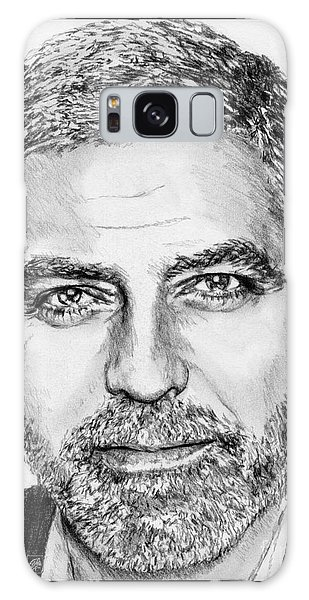 Galaxy Case - George Clooney In 2009 by J McCombie